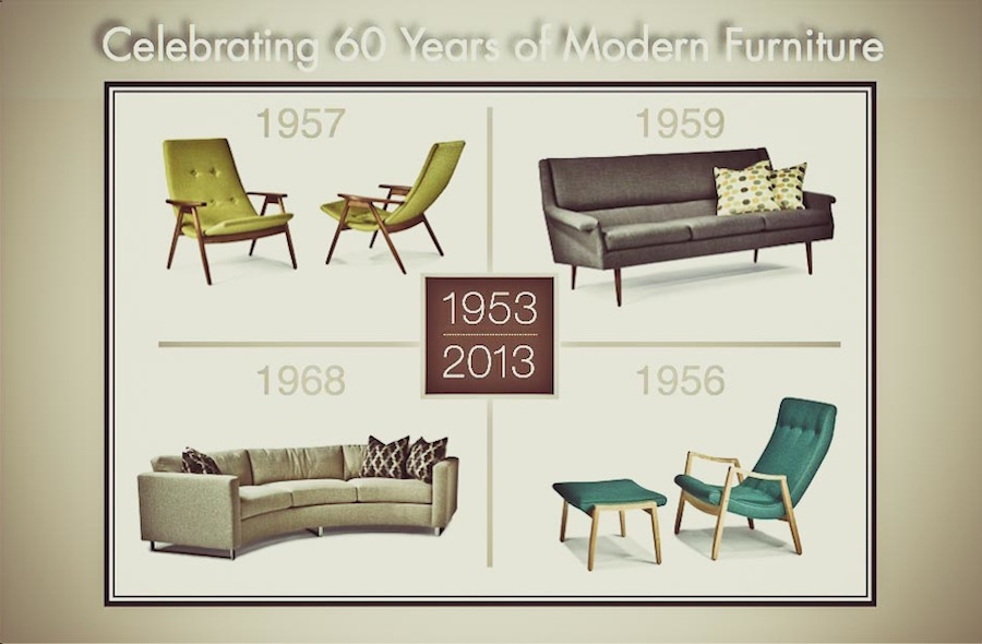 Forsey Mid Century Modern Furniture Design 3 ...